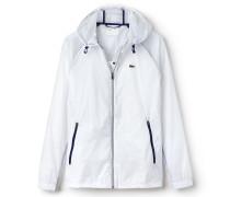Damen-Jacke aus Kontrastmaterial LACOSTE SPORT TENNIS