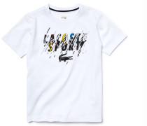 Grafisches Kinder-T-Shirt aus Baumwolle LACOSTESPORT TENNIS