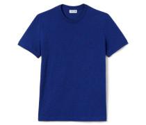 Rundhals-T-Shirt aus Flammé-Jersey
