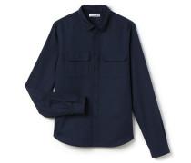 Herren-Hemd aus festem Woll- und Baumwollstoff Runway collection