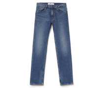 Regular Fit Jeans aus dehnbarem Denim