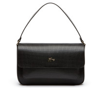 Damen Chantaco Baguette Tasche aus Piqué-Leder