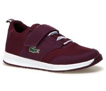 Kinder-Sneaker aus Materialmix mit Klettverschluss L.IGHT