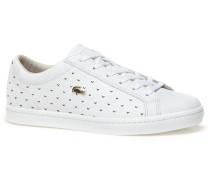 Damen-Sneakers STRAIGHTSET aus perforiertem Piqué-Leder