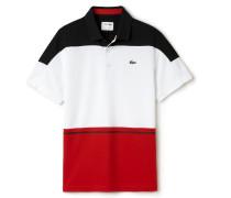 Dreifarbiges Herren-Tennis-Polo aus Ultra-Dry-Gewebe LACOSTESPORT