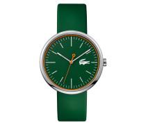 Uhr mit grünem Silikonarmband Orbital