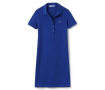 Polo-Kleid aus dehnbarem Mini-Piqué