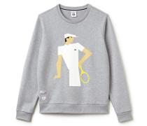 Herren-Sweatshirt mit Spieler-Aufdruck FRENCH OPEN Kollektion