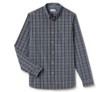 Herren-Karo-Hemd mit Button-Down-Kragen