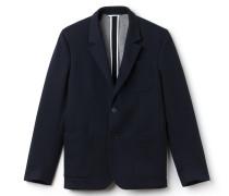 Regular Fit Herren-Jacke aus Baumwoll-Piqué
