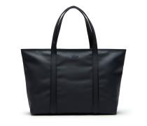 Damen Classic Einfarbige Große Tote Bag mit Reißverschluss