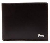 Herren-Set FG aus Leder-Brieftasche und Schlüsselanhänger