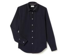 RegularFit Herren-Hemd aus Leinen und Baumwolle