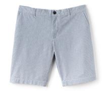 Regular Fit Herren-Bermudas aus Baumwollcanvas mit Vichy-Muster