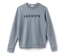 Herren-Sweatshirt aus Baumwoll-Fleece mit Lacoste-Schriftzug