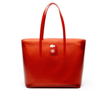 Damen LACOSTE SPORT FRENCH OPEN Transparentes Tote Bag