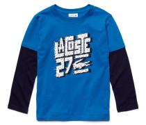 Kinder-T-Shirt aus Jersey mit langen Ärmeln im Mehrschicht-Look