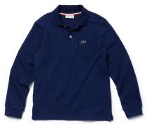 LACOSTE Jungen-Poloshirt aus meliertem Jersey