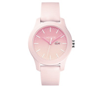 Faded Rosa Lacoste 12.12 Uhr
