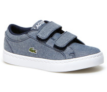 Kids' Straightset Lace Canvas Velcro Strap Sneakers