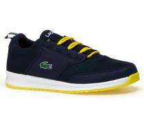 Kinder-Sneaker aus Materialmix L.IGHT