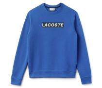 Herren-Sweatshirt aus Fleece mit Stickerei LACOSTE