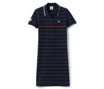 Gestreiftes Damen-Polokleid LACOSTE FRENCH OPEN Kollektion