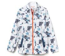 Damen-Jacke mit Reißverschluss und Aufdruck LACOSTE SPORT TENNIS