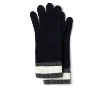Damen-Handschuhe aus Wollmischung mit optisch abgesetzten Bündchen
