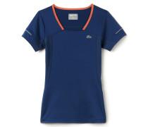Damen-T-Shirt aus dehnbarem Jersey LACOSTEL!VE