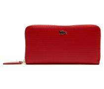 Chantaco-Lederbrieftasche mit Reißverschluss