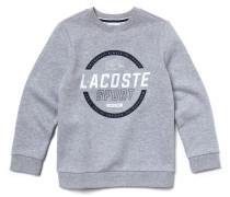 Kinder-Sweatshirt aus Baumwolle mit Schriftzug LACOSTESPORT TENNIS