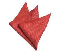 Einstecktuch Rot