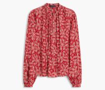 Belstaff Langärmeliges Lauren Hemd Carmine Red