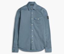 Belstaff Steadway Langarmhemd Blau