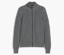 Belstaff Parkgate Zip Up Cardigan Grau
