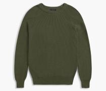 Belstaff Parkland Pullover Mit Rundhalsausschnitt Grün