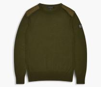 Belstaff Kerrigan Pullover Mit Rundhalsausschnitt Green