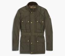 Belstaff Sophnet Roadmaster Jacke Mit Vier Taschen Grün