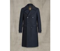 Milford Mantel Blau