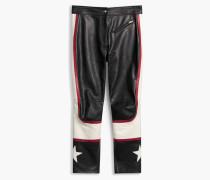 Belstaff Marton Bikerhose Black/White/Red