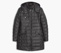 Belstaff Melcombe Down Coat Woman W/Fur Black