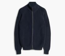 Belstaff Parkgate Zip Up Cardigan Blau