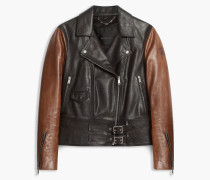 Belstaff Colefort Bikerjacke Black / Dark Brown