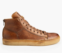 Belstaff Warwick Sneaker Mit Hohem Schaft Cognac-Braun