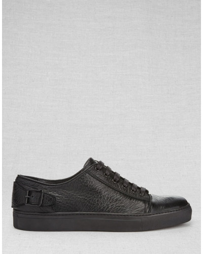 belstaff herren dagenham sneaker schwarz reduziert. Black Bedroom Furniture Sets. Home Design Ideas