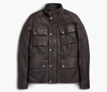 Belstaff Woodbridge Leather Jacket Schwarz