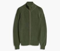 Belstaff Parkgate Zip Up Cardigan Grün