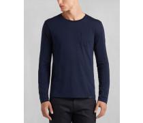 Belstaff Turner T-Shirt Mit Langen Ärmeln Marine