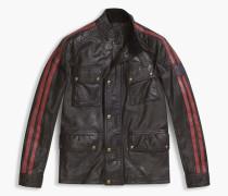 Belstaff Daytona Jacke Mit Vier Taschen Black/Racing Red